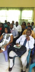 Cross-section of Participants During the Basic Skills In OBGYN Workshop